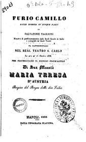 Furio Camillo ballo storico in cinque parti di Salvatore Taglioni [ ...]