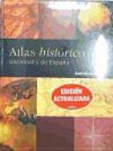 Atlas Historico Universal Y De Espana Santillana