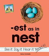est as in nest