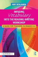 Infusing Vocabulary Into the Reading Writing Workshop PDF