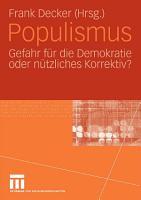 Populismus PDF