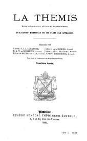 La Thémis: revue de législation, de droit et de jurisprudence, Volume2