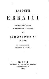 Contes hébreux traduits de l'anglais en français et en italien
