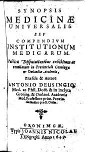Synopsis Medicinae univers