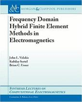 Frequency Domain Hybrid Finite Element Methods for Electromagnetics