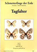 Butterflies of the World  Papilionidae XII  Parnassius appollo III text PDF