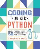 Coding for Kids   Python Book