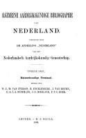 Algemeene aardrijkskundige bibliographie van Nederland  deel  Natuurkundige toestand  bewerkt door W J D  van Iterson  E  Engelenburg  J  van Heurn  C A J A  Oudemans  J G  Boerlage  P P C  Hoek PDF