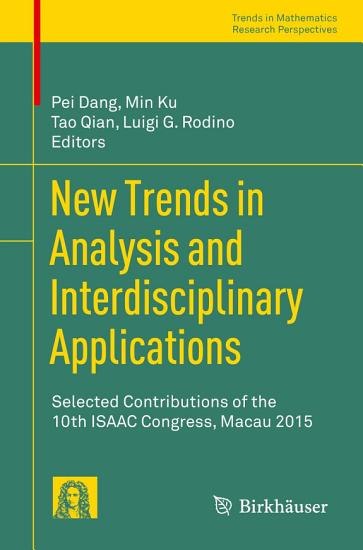 New Trends in Analysis and Interdisciplinary Applications PDF