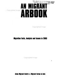 Asian Migrant Yearbook PDF
