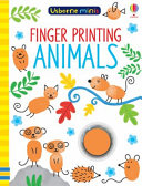 Mini Books Finger Painting Animals