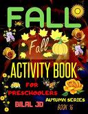 Fall Activity Book for Preschoolers