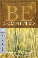 Be Committed  Ruth   Esther  PDF