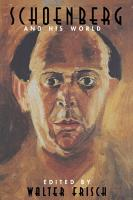 Schoenberg and His World PDF