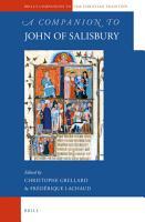 A Companion to John of Salisbury PDF