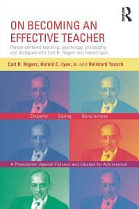 On Becoming an Effective Teacher Book