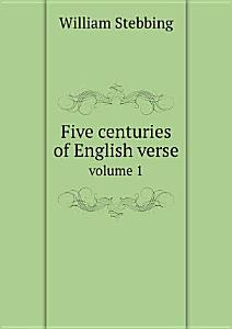 Five centuries of English verse Book