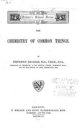 The Chemistry Of Common Things Book PDF