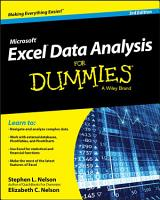 Excel Data Analysis For Dummies PDF