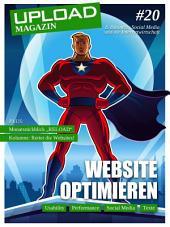 UPLOAD Magazin #20: Website Optimieren