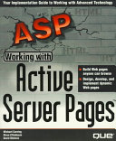 Working with Active Server Pages