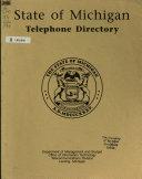 State of Michigan Telephone Directory PDF