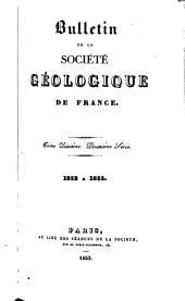 Bulletin de la Société Géologique de France: Volume10