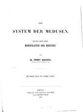 Monographie der Medusen: Band 1