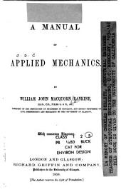 A Manual of Applied Mechanics: Volume 2, Part 2