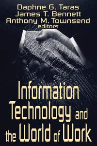 Information Technology and the World of Work PDF