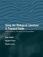 Using The Biological Literature PDF