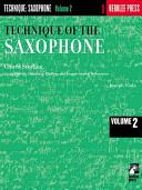 Technique of the Saxophone