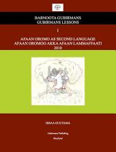 Afaan Oromo As Second Language