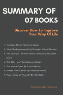 Summary Of 07 Books