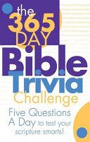 The 365 Day Bible Trivia Challenge PDF