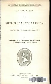 Check lists of the shells of North America: Volume 2, Issue 6