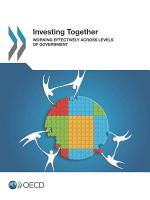 OECD Multi level Governance Studies Investing Together Working Effectively across Levels of Government PDF