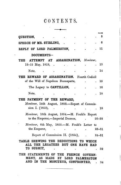 Download Cantillon s legacy  when was it paid  and who paid it  Speech  with the reply of visct  Palmerston   c    Book