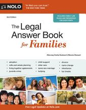 The Legal Answer Book for Families: Edition 2