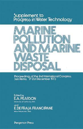 Marine Pollution and Marine Waste Disposal PDF