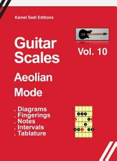 Guitar Scales Aeolian Mode Vol. 10: Natural Minor Scale
