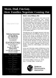 The American Psychologist PDF