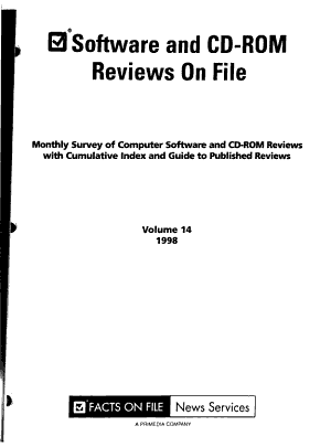 Software and CD-ROM Reviews on File
