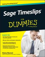 Sage Timeslips For Dummies PDF