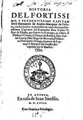 Historia del ... Capitan Don Hernando de Avalos, Marques de Pescara