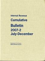 Internal Revenue Service Cumulative Bulletin PDF