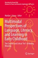 Multimodal Perspectives of Language  Literacy  and Learning in Early Childhood PDF