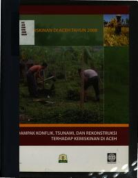 Dampak konflik  tsunami  dan rekonstruksi terhadap kemiskinan di Aceh PDF