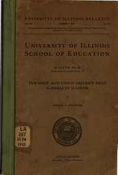 Township and Union District High Schools in Illinois: Issue 14