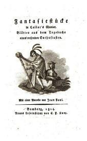 Fantasiestücke in Callot's Manier: Blätter aus dem Tagebuche eines reisenden Enthusiasten
